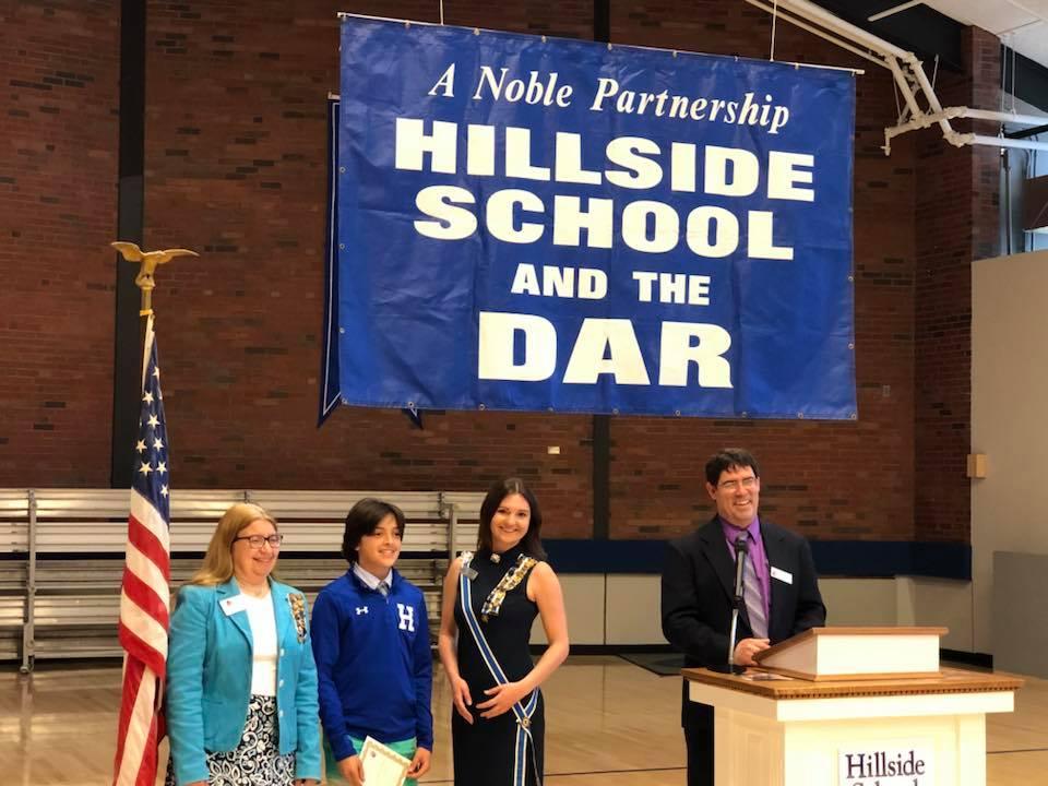 Hillside award ceremony